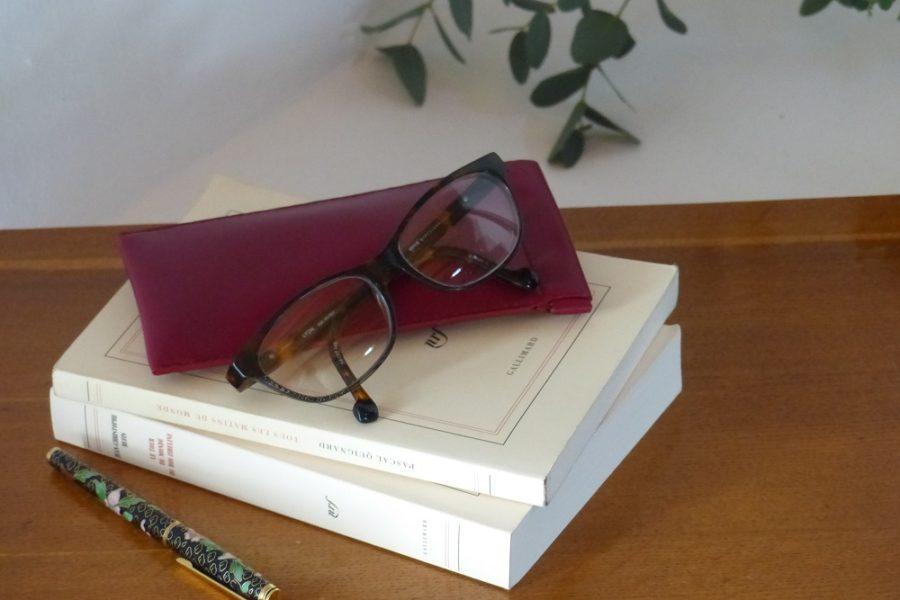 etui lunette rose 2